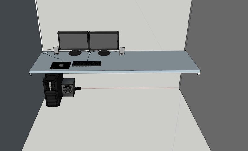 statik f r schreibtisch woodworker. Black Bedroom Furniture Sets. Home Design Ideas