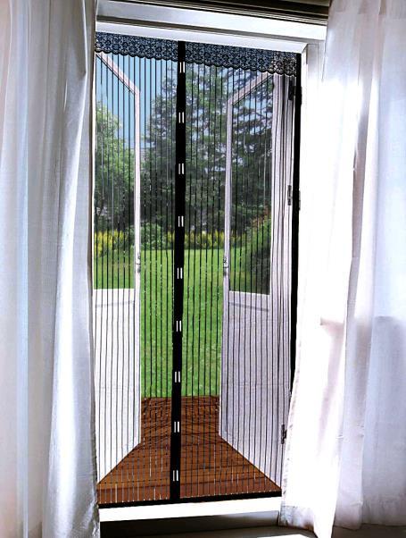 magnet t rfliegengitter schutz insekten t r fliegen gitter netz t rvorhang ebay. Black Bedroom Furniture Sets. Home Design Ideas