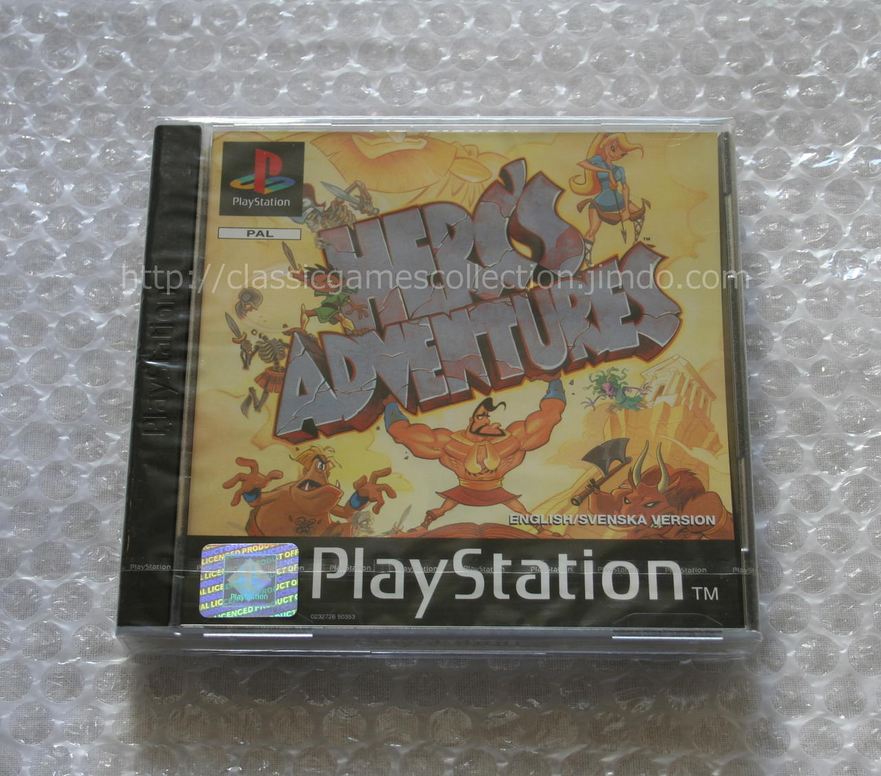 Playstation] Herc's Adventures (PAL) New & Sealed