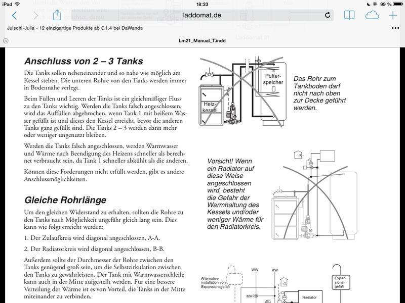 Erfahrung Entfernung Kessel/Speicher wg. Laddomat (2)