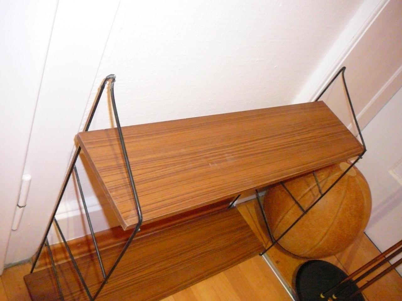 string regal gebraucht ruempelstilzchen 60er string regal system teakholz vintage string regal. Black Bedroom Furniture Sets. Home Design Ideas