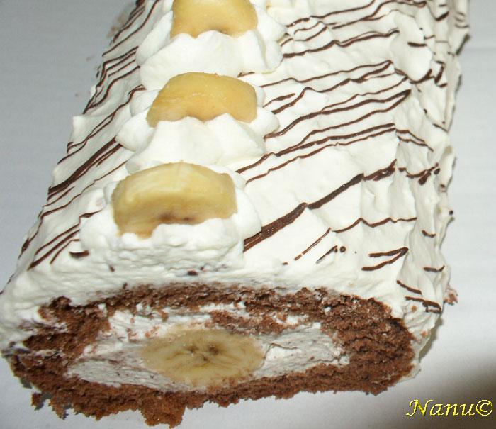Bananen Roulade Rezepte Spezialitaten