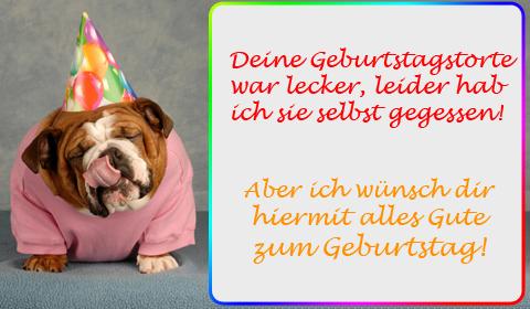 Lustige Geburtstagsspruche Hund Marianiadiana Blog