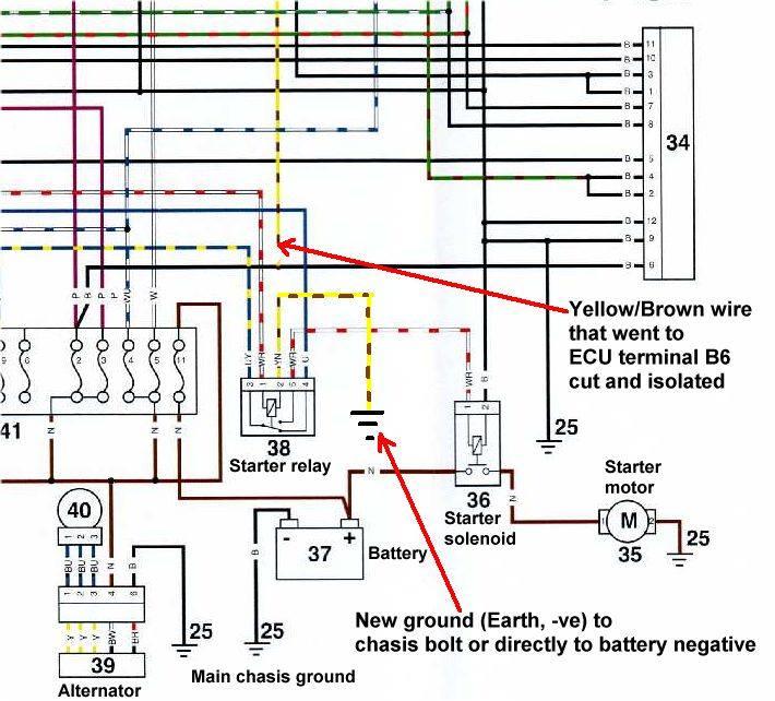 anlassen trotz niedriger batteriespannung thruxton forum de