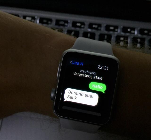 Whatsapp nachrichten auf apple watch