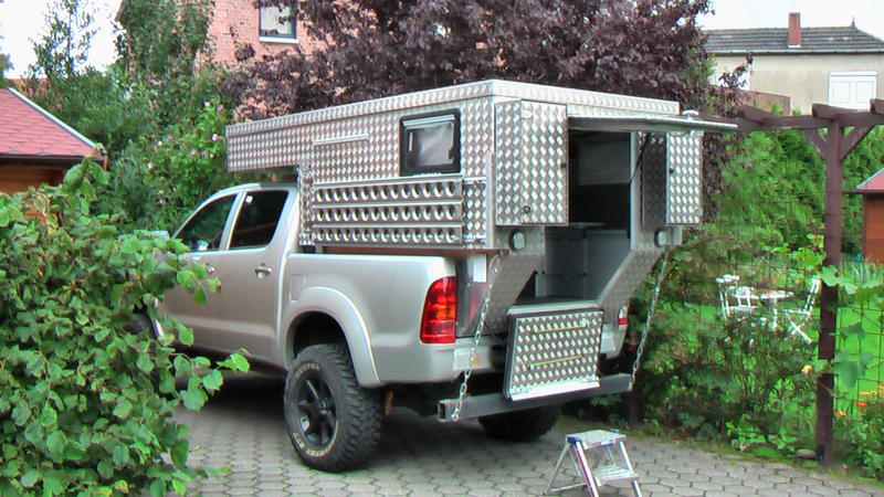 pickup wohnkabine selber bauen