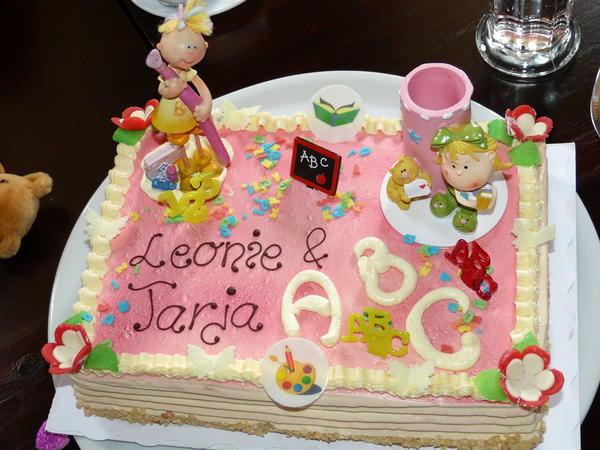 Torte Zur Einschulung In Buchform Kochen Co Erziehung Online
