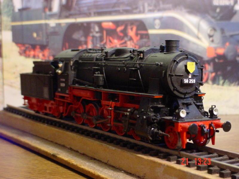 Uraltmodelle H0 Dampflokmodelle -gebaut vor über 25 Jahren 21784138hw