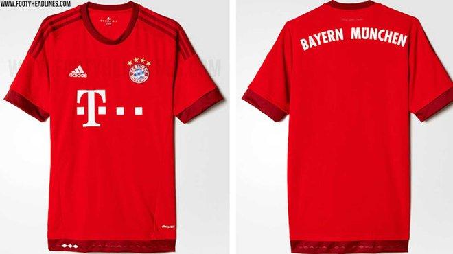Neue Bayern Trikots 15/16