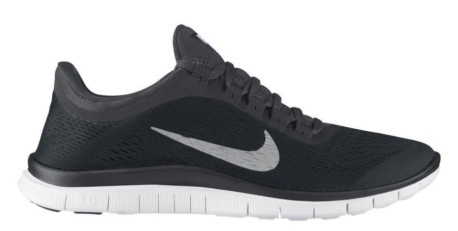 Nike Free 3.0 Damen Schwarz Angezogen