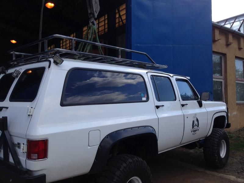 Suburban Off Road Roof Rack Lovequilts