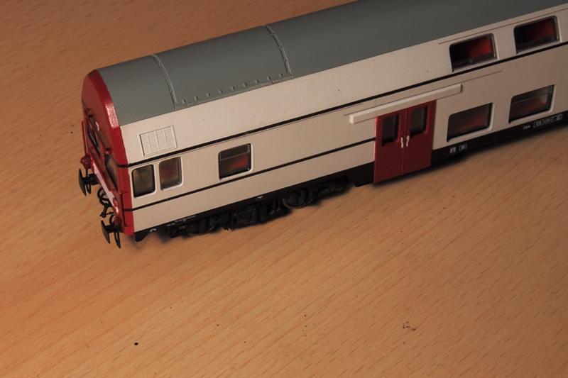 DBmq-Steuerwagen von Piko in Versuchslackierung 22048534va
