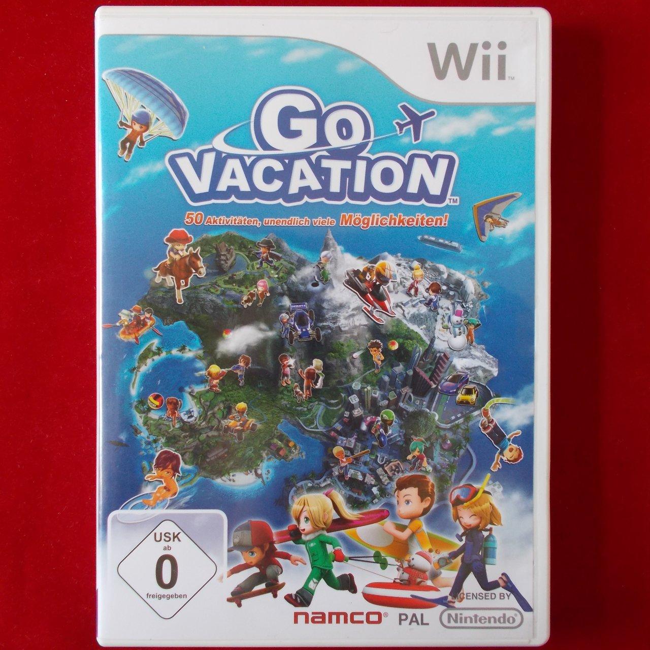 Go Vacation Wii U: Nintendo WII Go Vacation WII U 45496400590