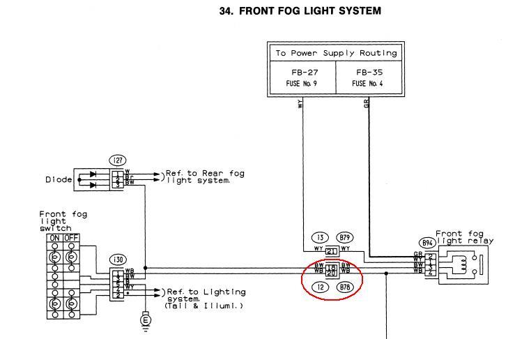 Schalter für Nebelschlussleuchte verkabeln (JDM-Impreza ...