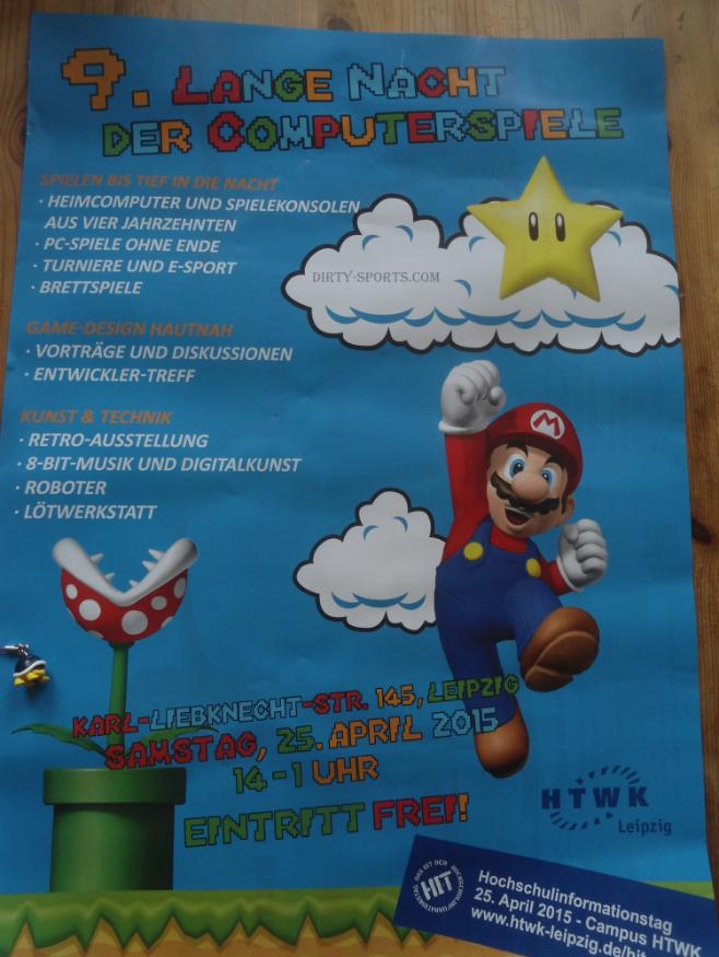 9. Lange Nacht der Computerspiele: Poster