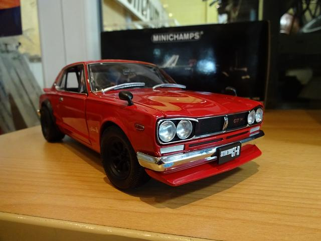 1 18 nissan skyline 2000 gt r kpgc10 watanabe rot. Black Bedroom Furniture Sets. Home Design Ideas
