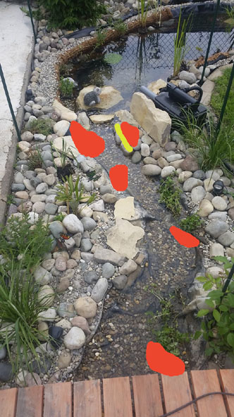 Kleiner teich mit bachlauf seite 6 garten for Teicheinlauf stein