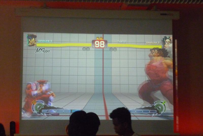 LangeNacht der Computerspiele: Fightality-Turnier unter anderem mit Streetfighter.