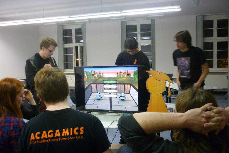 Lange Nacht der Computerspiele: Die Gamer der Uni Magdeburg.