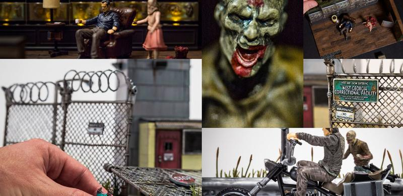 Walking Dead Building Sets