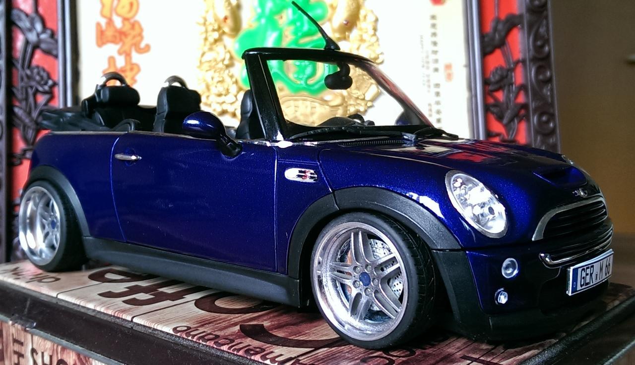 mini cooper s cabrio modelcarforum. Black Bedroom Furniture Sets. Home Design Ideas