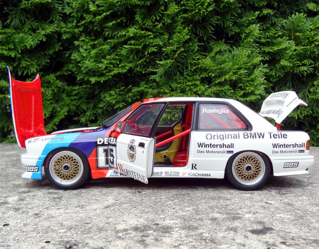 118 BMW M3 E30 15 DTM Champion 1989 Roberto Ravaglia
