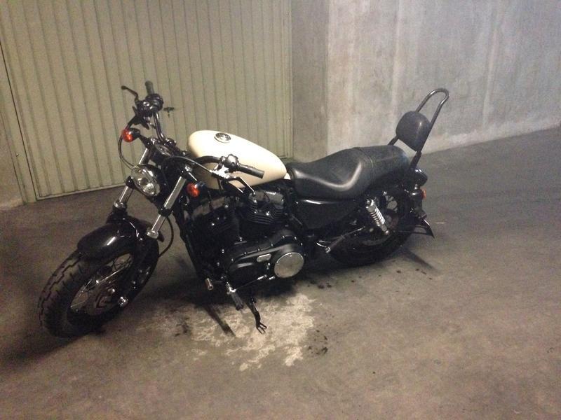 Changer Neiman Harley Davidson Sportster