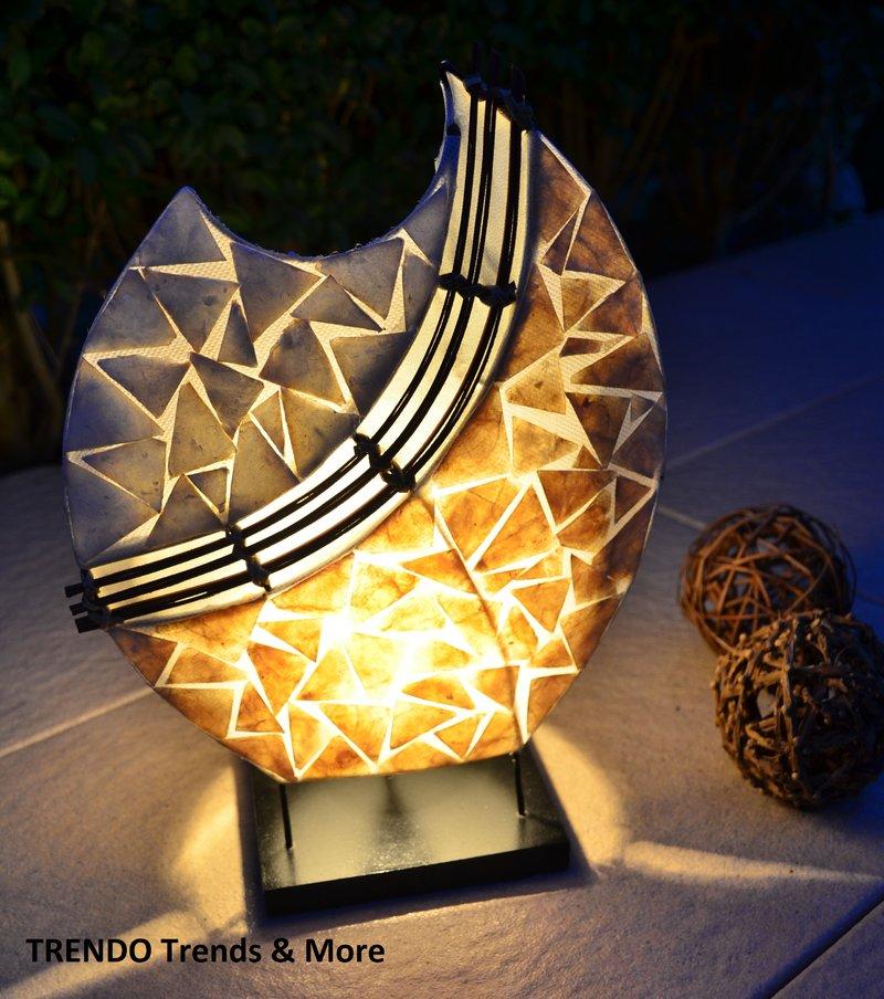 design lampe fenya bali asia afrika stehlampe led orient. Black Bedroom Furniture Sets. Home Design Ideas