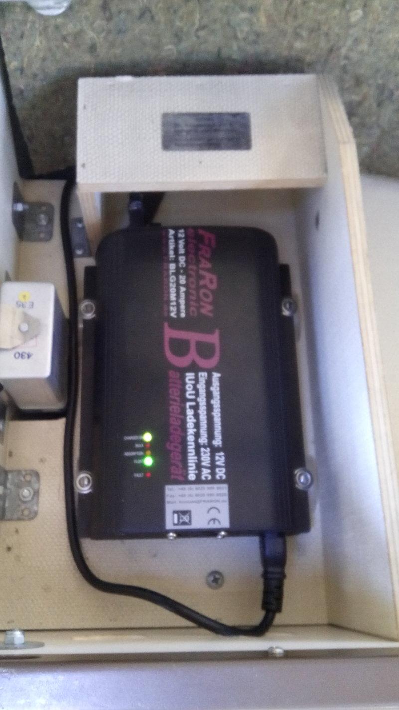 Welches Batterieladegerät Technikecke vwT3.at