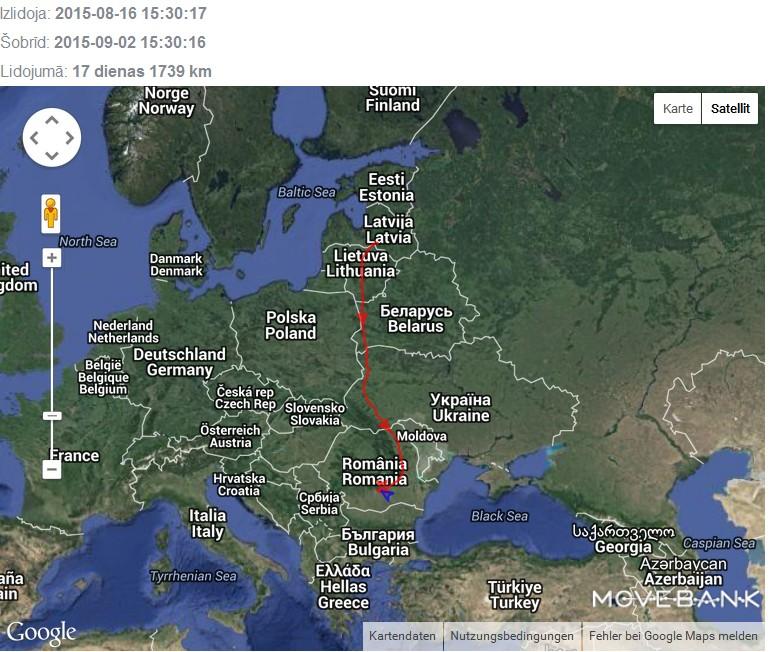 latvia google map
