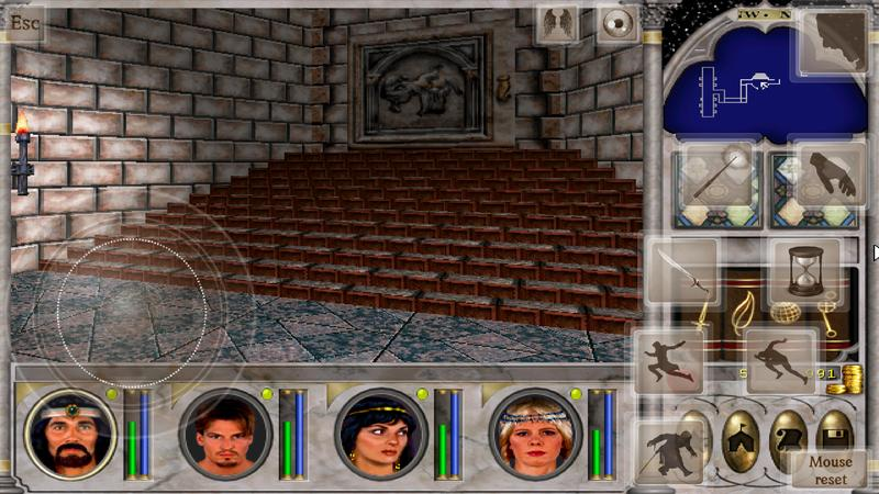 Might and Magic 6 : Mandate of Heaven on Magic Dosbox