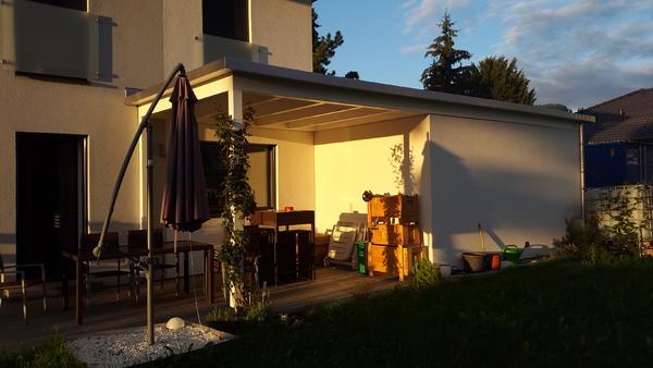 Gutes und günstiges Dach für eine Terrassenüberdachung Was kann