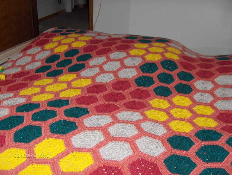 Hexagon Decke Junghans Wolle Handarbeitsforum