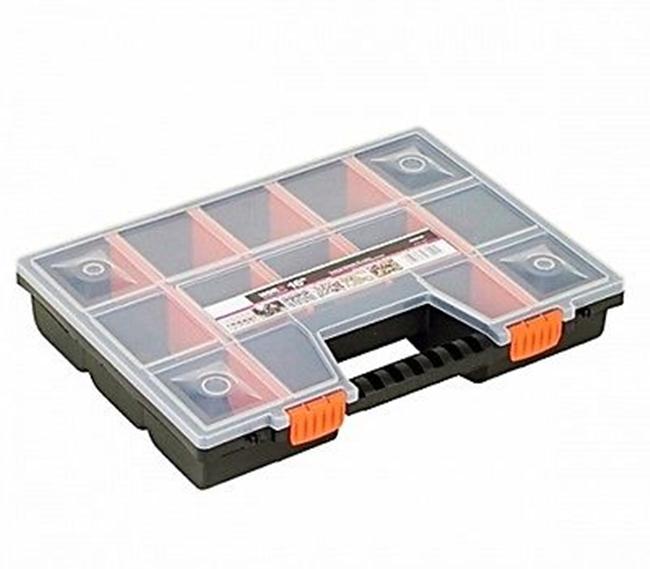 werkzeugkoffer werkzeug kasten koffer box schrauben organizer angelkoffer leer ebay. Black Bedroom Furniture Sets. Home Design Ideas