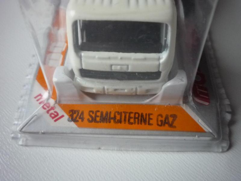 N°324 Mercedes NG + SEMI REMORQUE CITERNE Gas 23475546bo