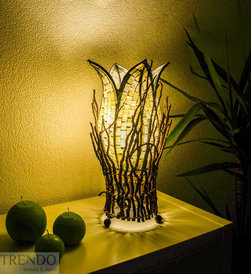 design tischleuchte aljana stehlampe bali asia afrika. Black Bedroom Furniture Sets. Home Design Ideas