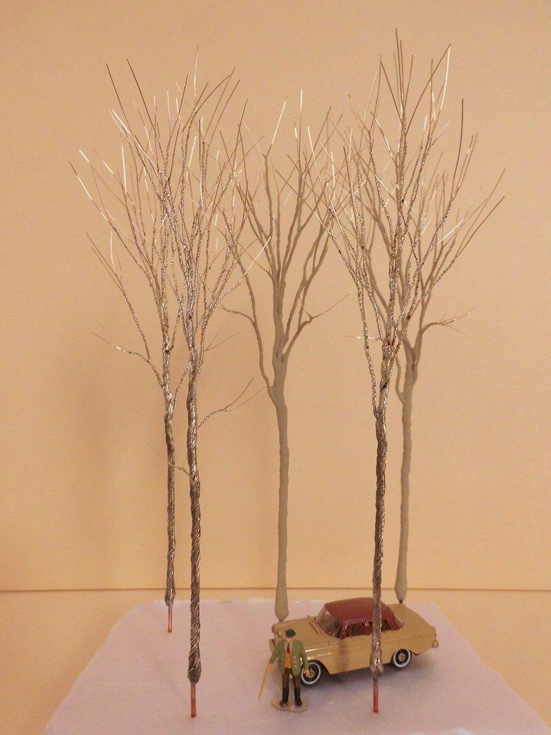 bäume h0 selber bauen
