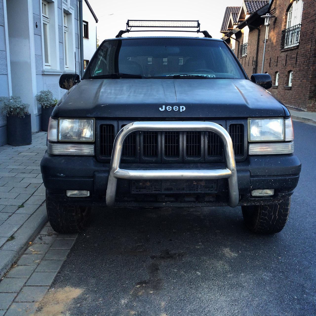 Jeep Grand Cherokee ZJ V8 Prins LPG AHK Offroad MTs