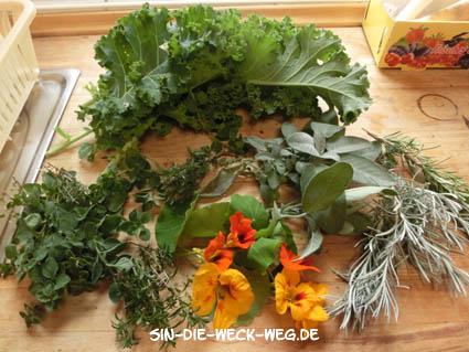 Getrocknete Gemüsebrühe – Herbsternte
