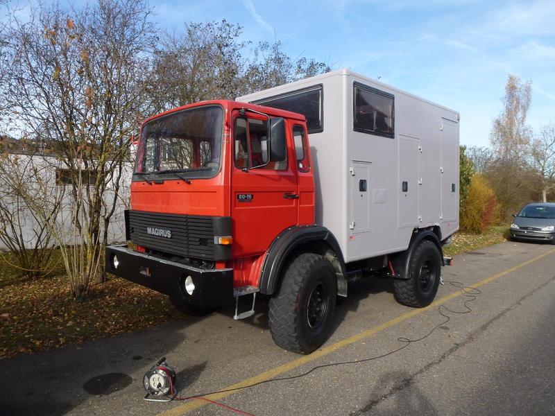 Iveco 80-16 AW - Viermalvier.de, das Geländewagenportal