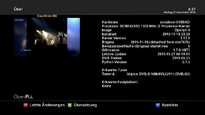 OpenPli 4 0 (master git) -Xtrend 4000 - ET 4000 - Dreamworld