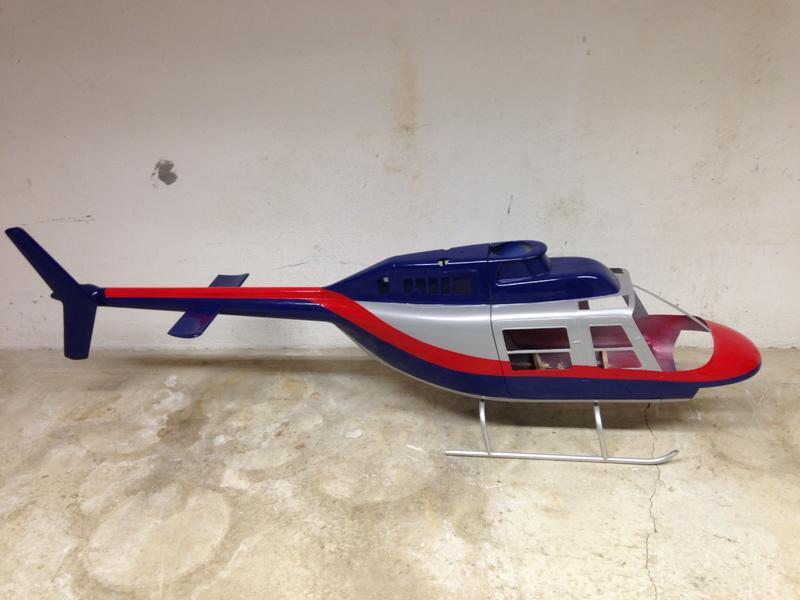Jetranger vom Maurer mit Trex 700 V2 [Archiv] - RC-Heli Community