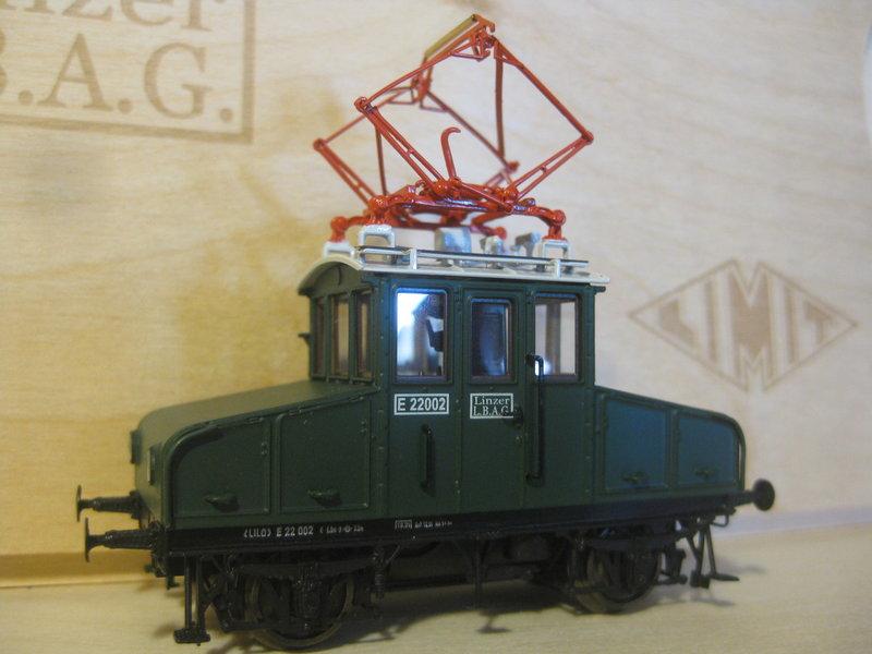 Gleichstromlokomotiven der Linzer Lokalbahn von Limitbahn 23843616ry