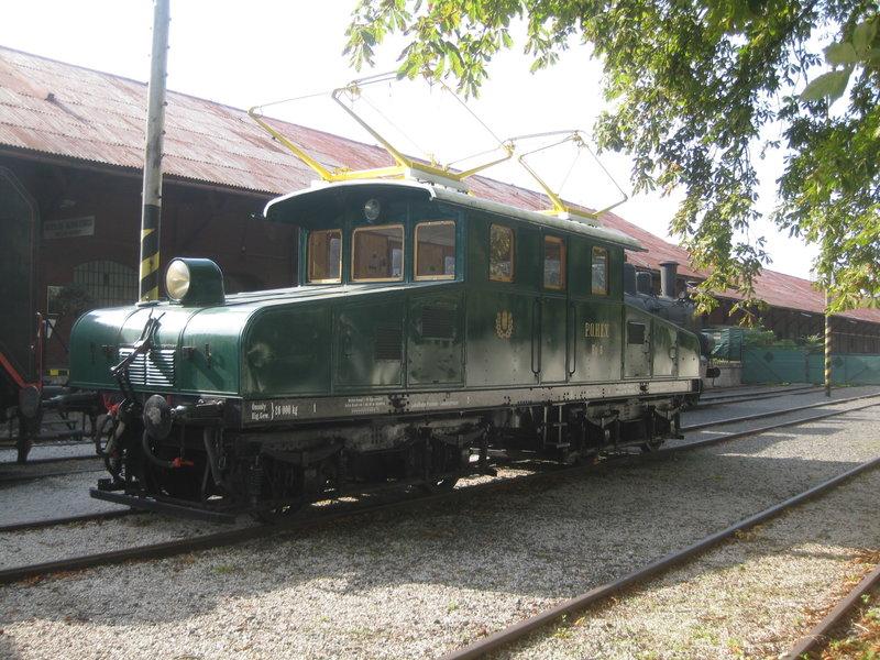 Gleichstromlokomotiven der Linzer Lokalbahn von Limitbahn 23843669qh