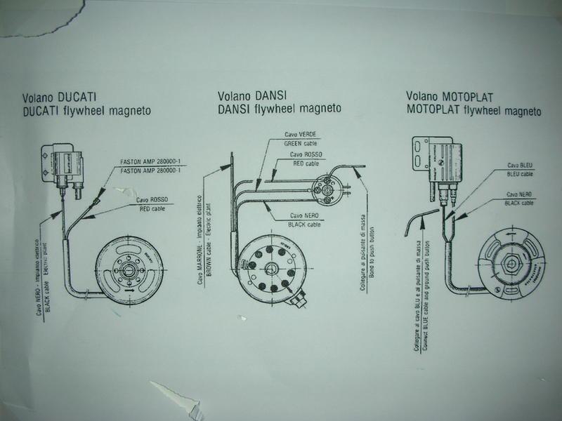 Dansi Kontaktlose Zündung 6 Volt - Technik für klassische Motorräder ...