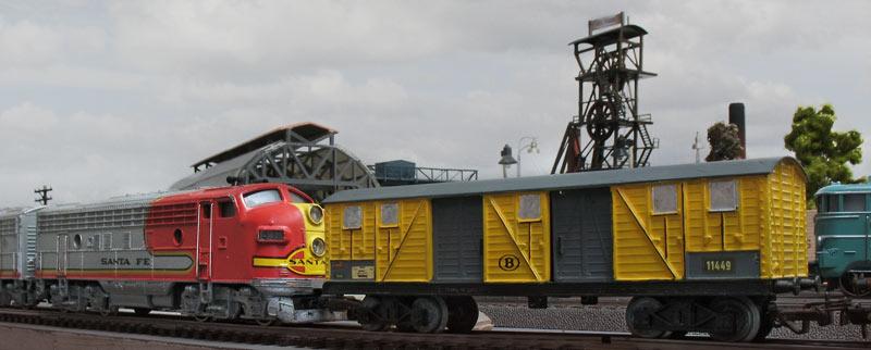 Amerikanische Diesellok zu Testfahrten in Europa 24094005ig