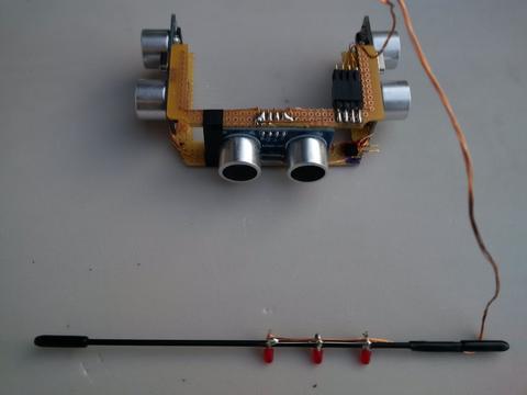 Kollisionserkennung mit arduino und ultraschall sensor selber