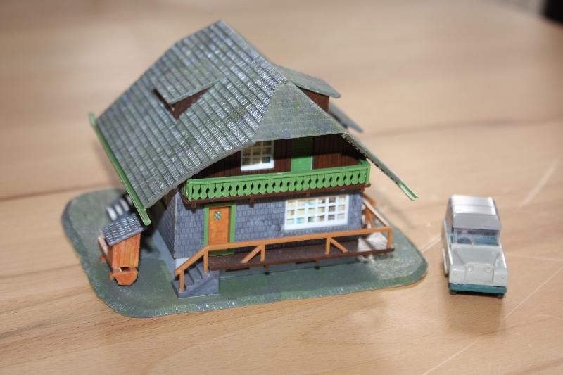 gebaute h0 häuser