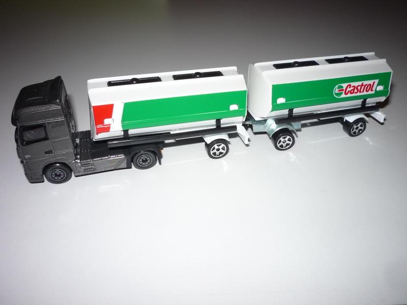 N°605 Mercedes Actros Semi Bi-Train Citerne 24223461hu