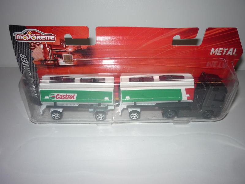 N°605 Mercedes Actros Semi Bi-Train Citerne 24223462nt
